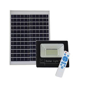 Solar al aire libre del LED luces de inundación 40W 60W 120W Lámpara impermeable IP67 Iluminación Reflector batería recargable Power Panel