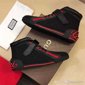 Gucci shoes 2020 dernier luxe Hommes Wome luxe Marque Red Bas Hommes Designers Chaussures G Low Casual Flat Outdoor Zapatillas Driving Chaussures Homme