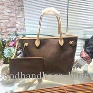 4 colors lattice 2pcs set Top quality Women handbag handbag ladies designer designer handbag high quality lady clutch purse shoulder bags 58
