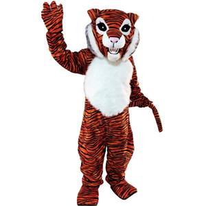 Tigre Mascot Costumes Personnage De Bande Dessinée Adulte Sz 100% Image Réelle 069