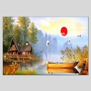 Хуа Туо Пейзаж Стиль масляной живописи HT-1170527