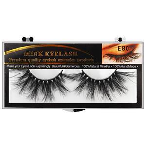 5D mink false eyelashes 25MM long cross-eyelashes thick exaggerated fake eyelashes 10 styles free shipping epacket