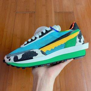 Топ дизайнерская обувь LDV Waffle мужские кроссовки Женские черные белые серые сосновые зеленые Gusto Varsity Blue мужские кроссовки модные спортивные кроссовки