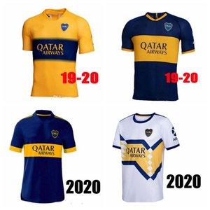 2020 2021 Boca Juniors soccer Jersey Home Away 20 21 Boca Juniors TEVEZ MARADONA MOURA ABILA REYNOSO DE ROSSI JRS sports football shirt