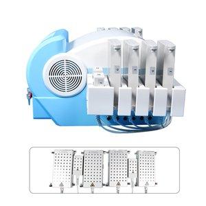 Hot selling!!!4 Wavelength Diode Lipo Laser Slimming Machine 12big 4small Pads