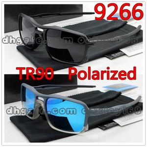 2019 Hot Brand Designer 9266 Occhiali da sole TR90 Frame Occhiali da sole polarizzati Uomo Equitazione Occhiali da sole sportivi Occhiali UV400 con custodia e scatola