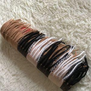 Moda Invierno Cashmere Bufanda de alta gama Suave gruesa Pañuelo de cachemira Moda Hombres y bufandas de las mujeres 200 * 70 cm