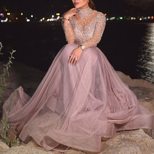 2020 New Cross-Border Foreign Trade Womens Independent Station Sexy Bronze Long-Sleeved Banquet Dress New Style