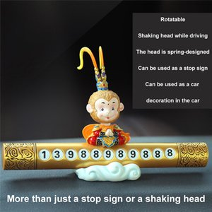 CARPRIE Car Interior Accessories Decorations Doll Shaking Head Dog Ornaments Cute Creative dropship 19A22