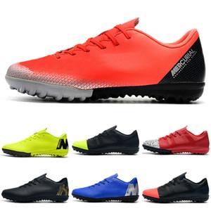 Chaussures de football pour hommes basses VAPORX 12CLUB IC TF Chaussures de football Cristiano Ronaldo CR7 Mercurial SuperflyX VI Chaussures de football en salle Neymar