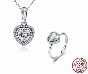 PJS 925 Sterling Silver Daisy Flower Infinity Love Anillos de dedo pavimentados para mujeres Boda Joyería de compromiso PJS