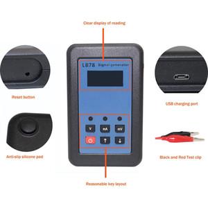 Бесплатная доставка 4-20мА /0-10В/МВ ток напряжение генератор сигналов источник сигнала калибратор тестер сигналов
