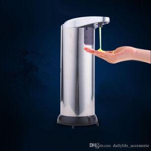 Automatic Touchless Soap Dispenser 280ml Fingerprint Resistant Liquid Infrared IR Sensor Soap Dispenser for Bathroom or Kitchen with Waterpr