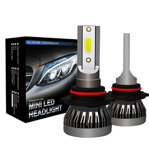 Car LED Headlight Bulbs H1 H11 9005 9006 90W 12000LM 6000K 12V Auto Mini Headlamp COB Fog Light US Stock