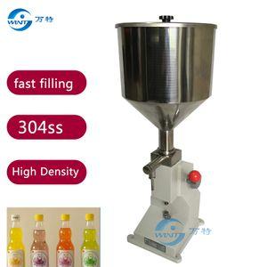 Kostenloser Versand Manuelle Paste Abfüllmaschine, Manuelle Flüssigkeitsfüllmaschine (5-50ml), Flüssigkeit A03 Manuelle Abfüllmaschine