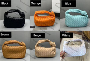 27 centimetri Designer nuovi catena sacchetto di Crochet borsa dalla spalla il sacchetto intero sacchetto genuina di cuoio di lusso delle donne nube Tote di alta qualità