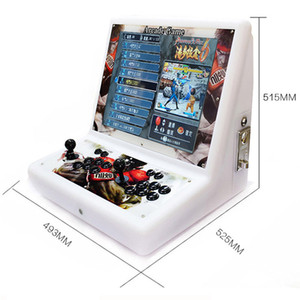 19 inches 2 players LCD Pandora box 9 9H 3D arcade video game console 1500 in 1 3288 in 1 2448 in 1 bartop Family arcade machine Free DHL