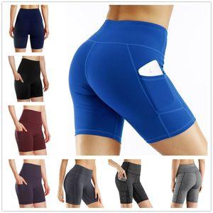 DHL Free Ship In stock 9 Colors Women Running Yoga Shorts Wholesale Fashion Sports Shorts Fitness Profetional Jogging Pants