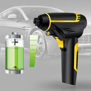 Zeepin Cordless Air Pump Electric USB Charging Handheld Car Inflatable Pump Compresor de aire digital con luz LED Motor automático