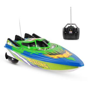 RC Boat corsa di controllo radiofonico Electric Boat Ship RC alta velocità Giocattoli impermeabili per il regalo dei bambini No Batteria Versione T191221