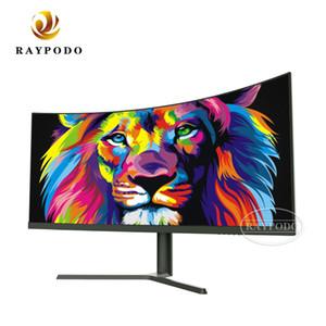 "Raypodo 새로운 30 ""21 : 9 PC 게임 모니터는 HDMI DP 입력으로 200Hz의 2560 × 1080 해상도를 곡선"