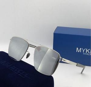 дизайнер очки мужских солнцезащитные очков для мужчин мужских солнцезащитных очков женской дизайнерских солнцезащитных очков для женщин ВС очков Mykita ЛЕННЫХ высокого качества с коробкой