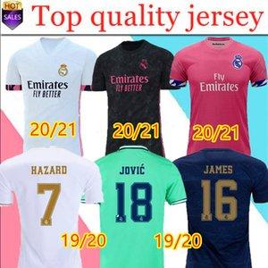 Yeni Real Madrid formaları 20 21 futbol forması TEHLİKESİ Sergio Ramos BENZEMA VINICIUS camiseta formalarını üniformalar erkek + çocuk kiti setleri 19/20
