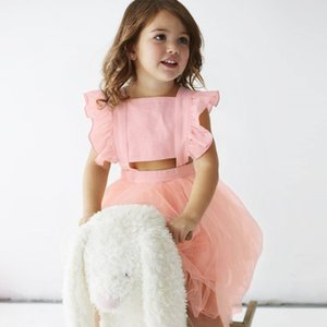Enkelibb 공주님 여자 투투 드레스 여름 여자 민소매 드레스 패션 블랙 / 핑크 여자 아름다운 공 가운 Y19061801