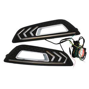 2pcs bianco LED Special Car Daylight LED Daytime Light Light Modified Mustang Lampada Adatta per 15-17Pr 15-17 Ford Focus Auto Light