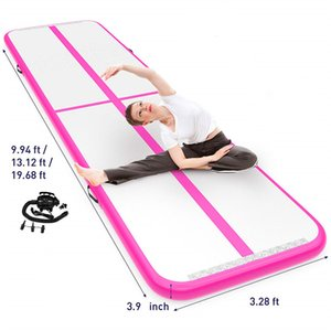 Free Shipping Free Pump 3*1*0.1m Air Track, Tumbling Mat, Inflatable Gymnastics Airtrack Mat, Air Floor Mat For Sale