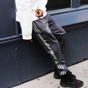Calabasas West Saison 5 Pants Men Cotton Elastic Waist Sweatpant Striped beiläufige Staffel 5 Sweatpants1