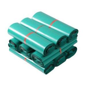 녹색 봉투 폴리 메일러 BY 메일 플라스틱 메일 링 가방 봉투 Hight 품질 32 * 45cm 무료 배송
