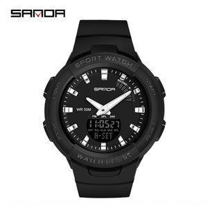 SANDA  Sanda style various colors fashion outdoor casual male and female middle wristwatch school wristwatches