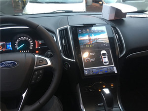 2015 plus FORD EDGE Tesla style MULTI-MEDIA CAR Android SYSTEM SCREEN 12.1INCH GPS  VIDEO AUDIO WIFI hot spot connection  BLUETOOTH