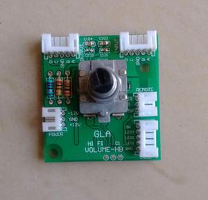 HiFi 4-canal / 8 canaux Volume Volume panneau de commande à distance Potentiomètre balance Potentiomètre (affichable