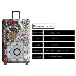 Yeni Varış Seyahat Aksesuarları Bavul Kapak Bagaj Kılıfı Kaliteli Ambalaj Organizatörler için Koruyucu Gezi Esnekliği