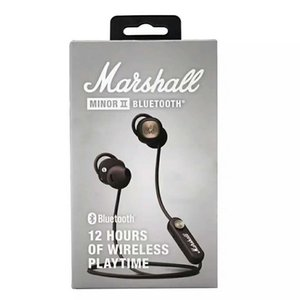 Marshall Minor II Bluetooth headphones Wireless Earphones DJ Perfect Sound Headsets Magnetic Pause Function Stereo Headphone Sports Earphone