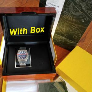 2019 Orologio di lusso di migliore qualità 41mm 15400ST ROVERE REALE Orologio automatico Scatola originale documenti 2813 movimento orologio da uomo orologio da polso da uomo