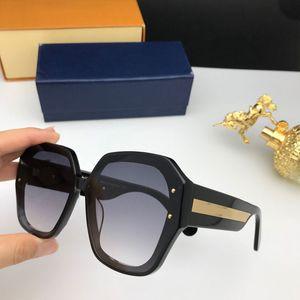 2020 nuevas mujeres de la moda gafas de sol 1085 del marco del diseño cristalino brillante cuadrado marco grande caliente de la señora diseño de la lente UV400 con el caso