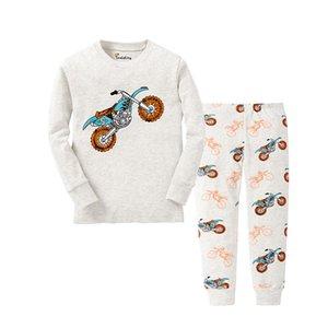Il nuovo modo animale ragazzi Moto Pajamas Bambini Dinosaur Pigiami Natale Pigiama Pigiama Enfant per 1-8Years