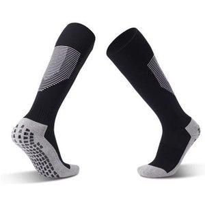 Fashion Summer Mens Football Socks New Arrival Over Knee Mens Solid Color Non-slip Breathable Stockings Casual Men Sports Socks