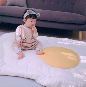 Egg Fluffy Rug Blanket Newborn Play Mats Rug Carpet Nordic Children Baby Girls Room Decor Baby Photography Props Decoration Rugs Y200527