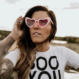 VIVIBEE rosa do coração do amor dado forma Óculos de Sol Retro UV400 Mulheres Moda 2020 Óculos Vintage fêmeas bonito Lolita Óculos Meninas Shades