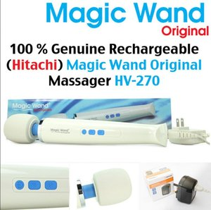 Hot New Magic Wand Powerful AV Vibradores recarregável Full Body Massager pessoal HV270 Feminino Masturbação produtos Adult Sex Toy HV270