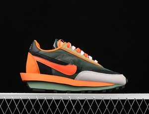 2020 Sacai x LVD Waffle Daybreak Kids Running Shoe With Box Top Quality LVD Waffle Daybreak Men WomenTrainers Sport Shoes Size 4-12