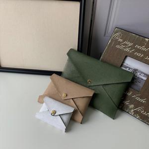 Combinaison Designer Kirigami Pochette bourse Top qualité Designer bourse Femmes Pochette Portefeuille Sacs boîte originale avec le logo et le code dateur