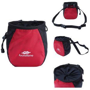 climbing magnesium outdoor single powder bag parallel bars fitness gymnastics non-slip powder storage pockets Outdoor gadgets