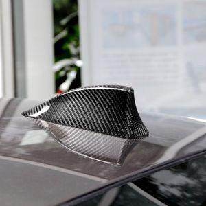 BMW Tüm Araçlar için Karbon Fiber Araç Anten Kapak Shark Fin Car takma Serisi Dekorasyon Kapak Araç takma Dekorasyon Aksesuarları