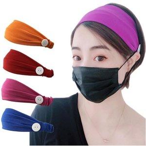 Nueva seda de la leche estilo boca elástica pura de color máscara de la venda contra los deportes estrangulamiento hairband de yoga venda del partido pequeño regalo T9I00404