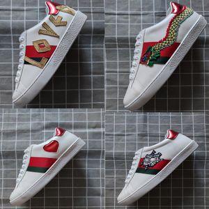 Nuovo lusso scarpe stilista scarpe basse miglior regalo da uomo e scarpe da tennis a buon mercato in pelle asso delle donne comode scarpe casual